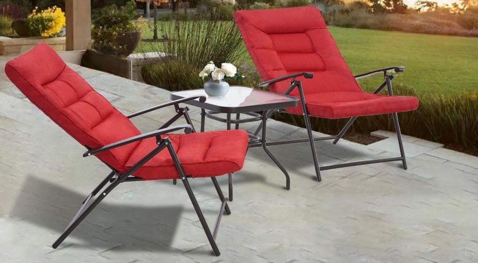 5 sets de muebles tipo bistró para usar en tu patio sin gastar mucho dinero