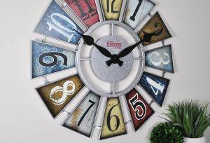 5 relojes con diseños originales y de números gigantes para decorar tu hogar