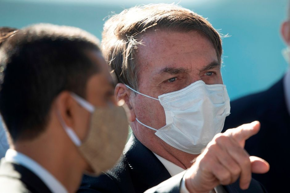 Jair Bolsonaro resulta positivo a coronavirus