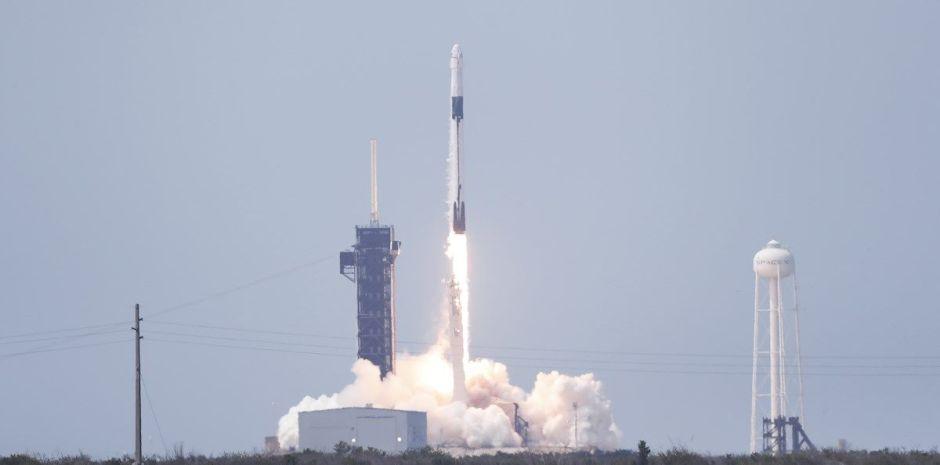VIDEO: Así fue el histórico lanzamiento del SpaceX con tripulación