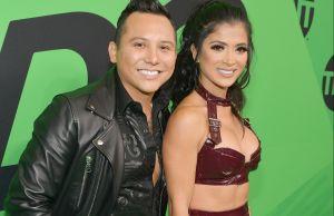 ¿Celosa? Kimbrely Flores reacciona a sensual video de Edwin Luna y Andrea Escalona