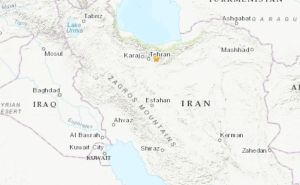 Un fuerte terremoto sacudió la capital de Irán