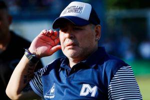 Maradona anunció que dio negativo en la prueba de coronavirus y David Faitelson lo troleó