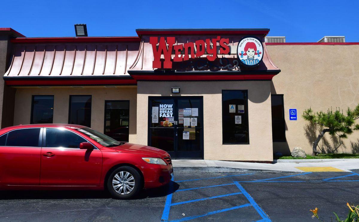 El 18% de los restaurantes Wendy's sufren escasez de carne de res.