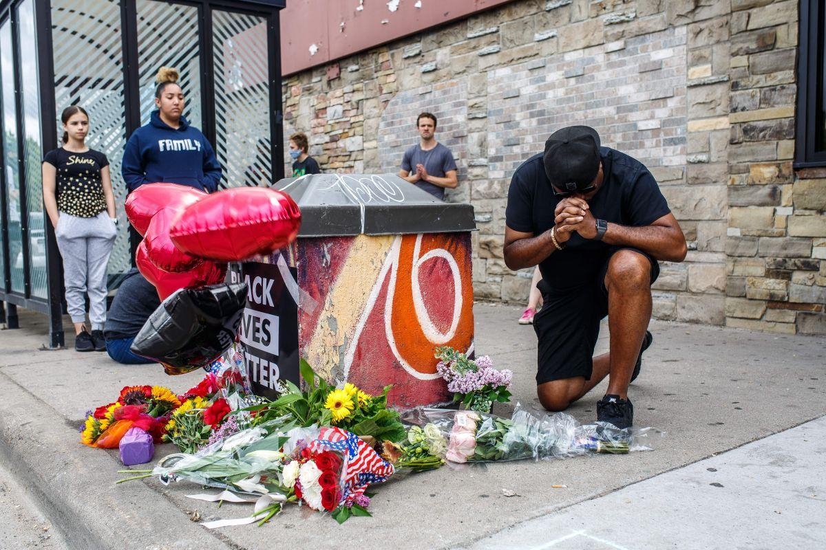 Circula video de George Floyd aconsejando a jóvenes perdidos por violencia con armas en la calle