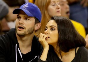 El truco de Ashton Kutcher y Mila Kunis para sobrevivir a las clases desde casa