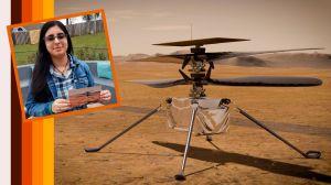 Adolescente le pone nombre al nuevo helicóptero de la NASA que irá a Marte