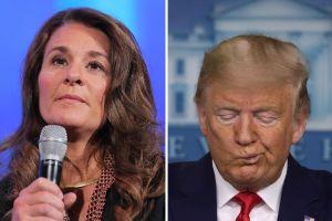 """Melinda Gates se lanza contra Trump por su """"falta de liderazgo"""" en coronavirus"""