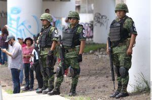 México: Preocupa a Derechos Humanos participación de Fuerzas Armadas en tareas de seguridad