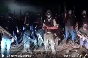 Ruptura de cárteles al sur de México, en video nuevo grupo lanza amenaza y prevén más violencia