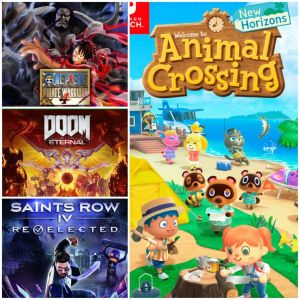 Reseña: Animal Crossing: New Horizons; DOOM Eternal; One Piece Pirate Warriors 4 y Saints Row IV