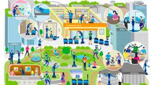 Sony y ANA crearán robots para ir al trabajo, comprar o realizar otras tareas