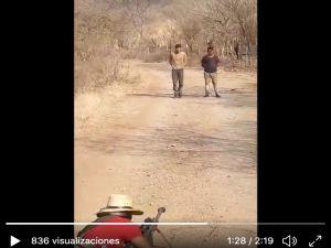 VIDEO: Familia Michoacana fusila a 2 del CJNG con el rifle más mortífero del mundo
