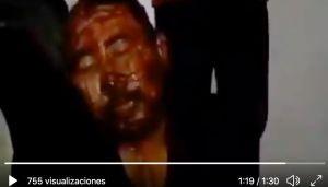 VIDEO: Sicarios del CJNG interrogan tras golpear brutalmente a supuesto secuestrador
