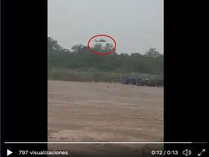 VIDEO: Tropa del Infierno del Cártel del Noreste ataca a helicóptero de Ejército mexicano