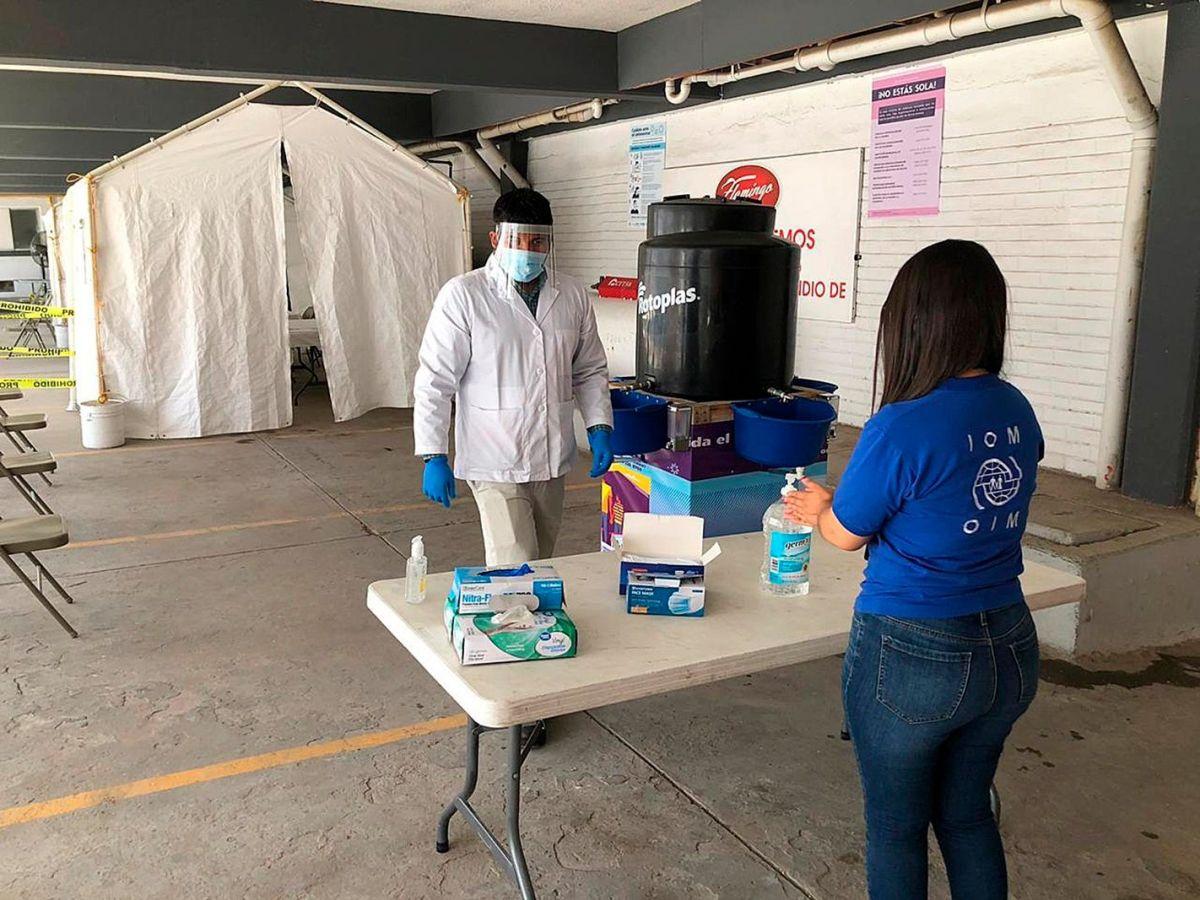 """""""Hotel filtro"""", la iniciativa en Ciudad Juárez para acoger a inmigrantes de forma segura durante la pandemia"""