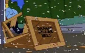 """Lo que faltaba: usuarios de redes ahora creen que """"Los Simpson"""" predijeron llegada de avispones asesinos a EEUU"""