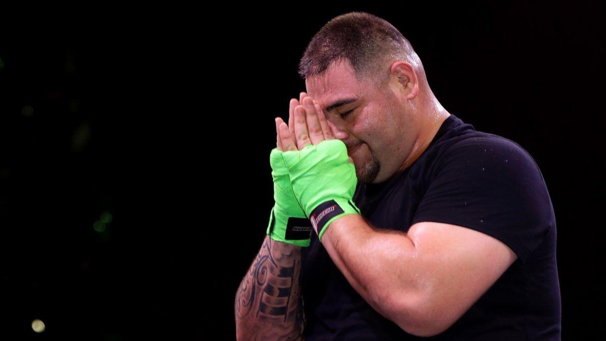 Empieza la transformación de Andy Ruiz: Bajo la tutela de Eddy Reynoso tiene una notable baja de peso