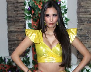 Bárbara Islas a contraluz, deja ver impactante figura en bikini