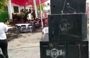 """""""Retiren mesas y sillas"""", Guardia Nacional cancela boda en Cuernavaca, Morelos"""