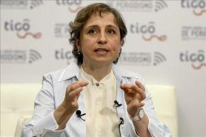 """Carmen Aristegui denuncia ataque """"virulento"""" en su contra"""