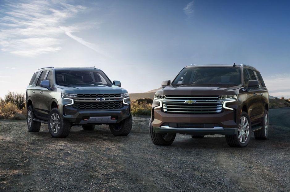 2021 Chevrolet Tahoe, Suburban y GMC Yukons mejoran el mpg en ciudad