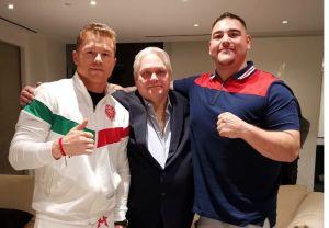 """Un nuevo capítulo: Andy Ruiz está emocionado de poder entrenar con el """"Canelo Team"""""""