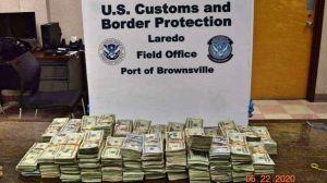 Arrestan a un hombre a punto de cruzar a México con más de $300,000 dólares en efectivo