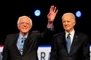Biden y Sanders anuncian un grupo de trabajo conjunto destinado a unificar el Partido