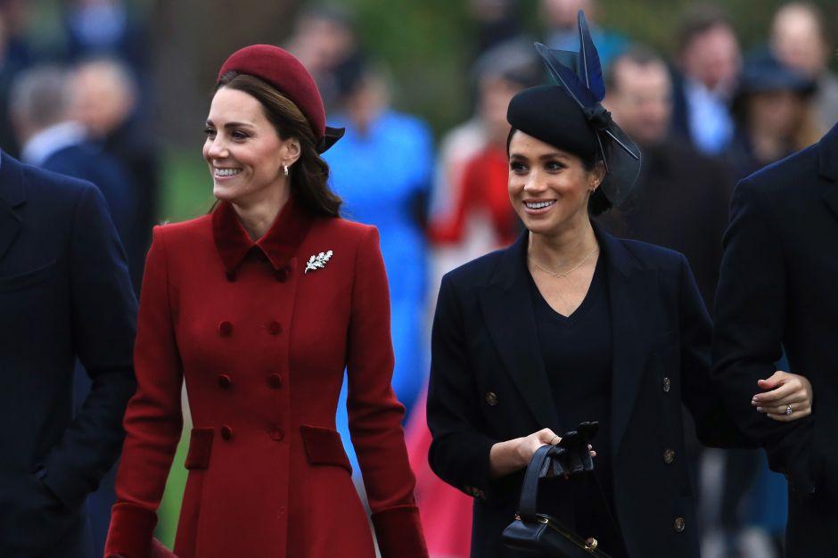La Familia Real Británica desmiente la supuesta mala relación entre Kate Middleton y Meghan Markle