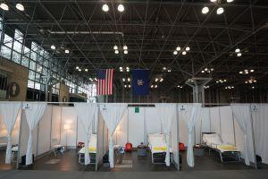 Cierran hospital militar en Javits Center: sólo atendió 1,100 pacientes en Nueva York