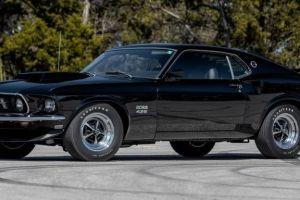A subasta este 1969 Ford Mustang Boss 429, que fue propiedad de Paul Walker