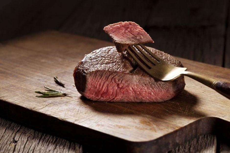 carne no cocida