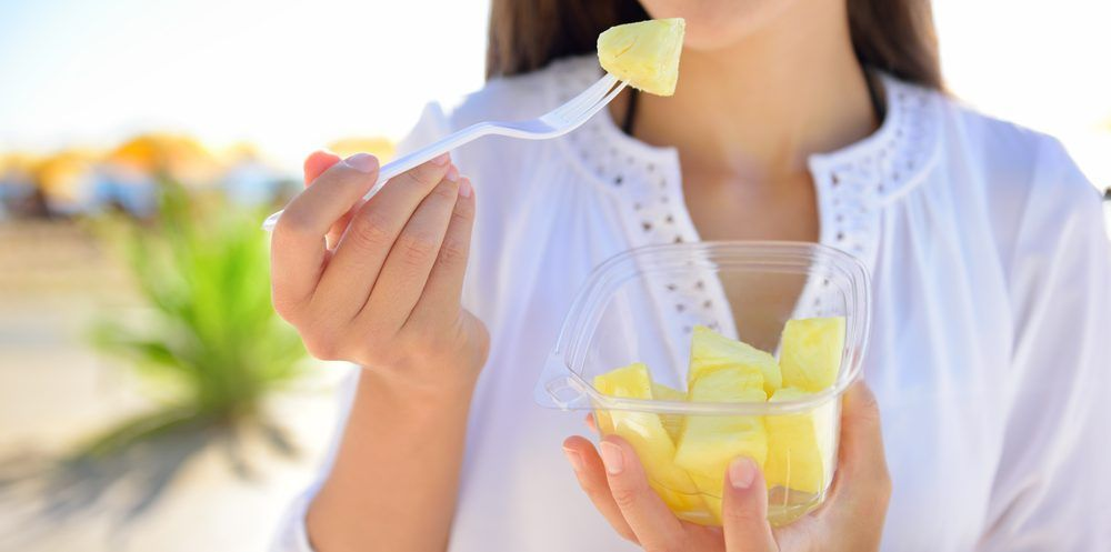 Products with pineapple to enhance your diet.
