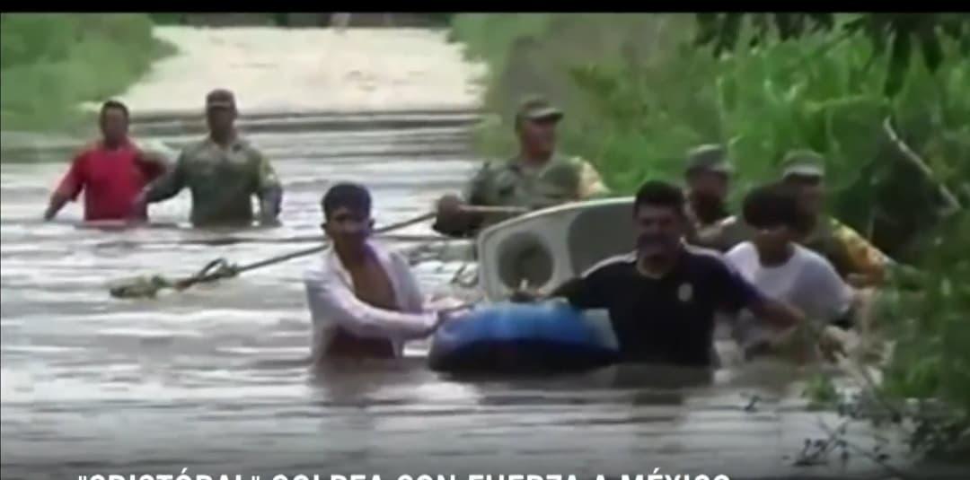 Tormenta Cristóbal entra al Golfo de México y se dirige a Louisiana; Nueva Orleans declara emergencia
