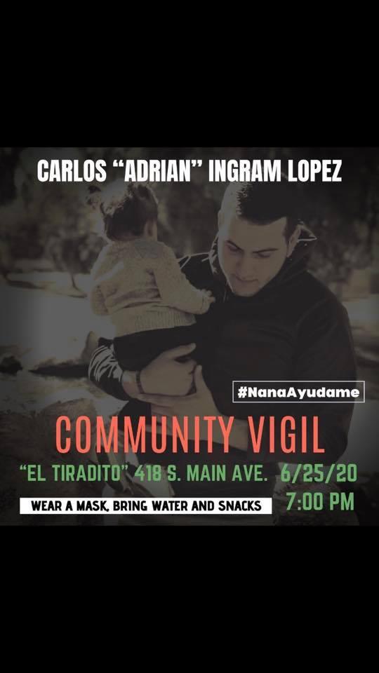 Hispano murió desnudo, en su casa y frente a su abuela a manos de policías; familia exige justicia desde Tucson, Arizona