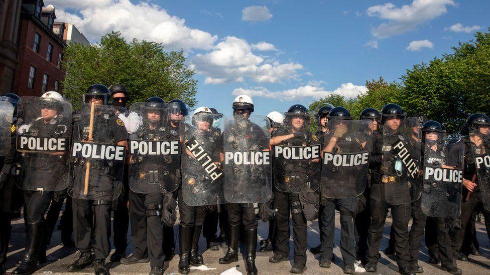 Las manifestaciones contra el racismo y la brutalidad policial no cesan.