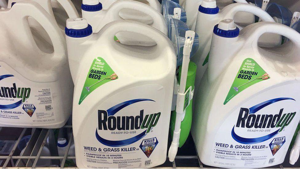 Roundup es uno de los herbicidas más populares.