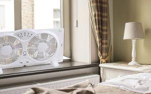 Los 5 mejores ventiladores para ventana que mantendrán tu hogar fresco