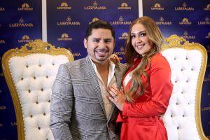 Larry Hernández regaló a vecinos y fans sus queridos adornos de navidad
