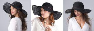 Sombreros de playa, gorras y otros accesorios de cabello para usar este verano