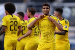 La protesta contundente del Borussia Dortmund por el asesinato de George Floyd
