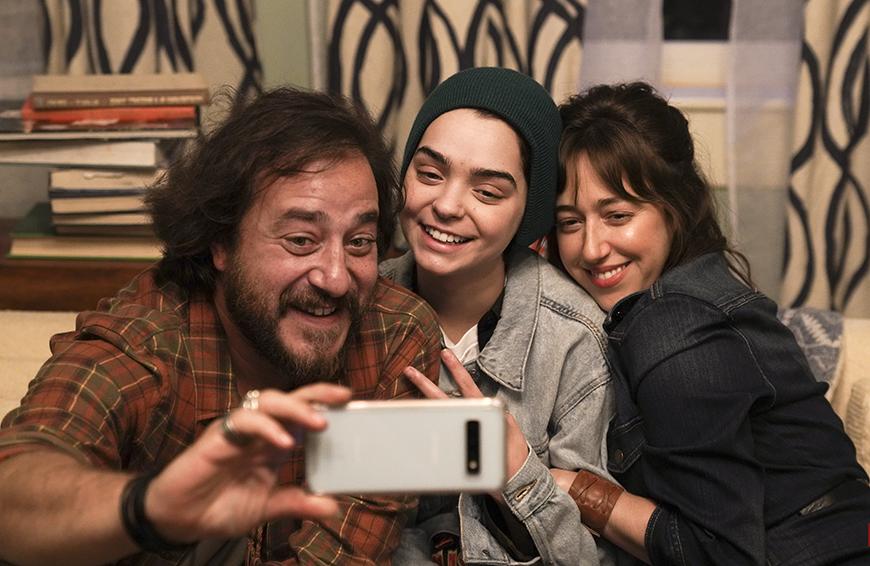 Andrés Almeida, Macarena García y Mariana Treviño