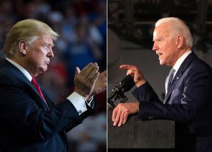 Biden supera hasta por 12 puntos a Trump en encuestas