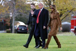 La mentira de Trump sobre Barron y coronavirus