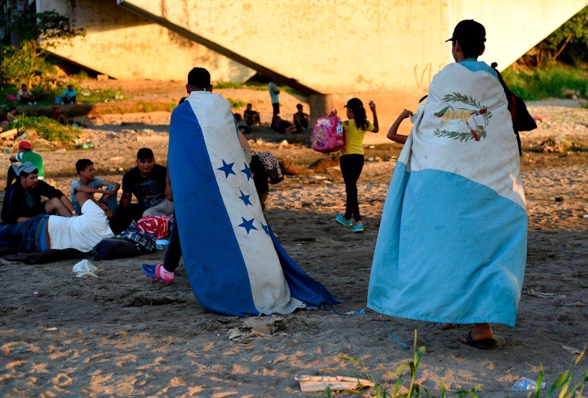 Las caravanas migrantes se han convertido en un reto para el Gobierno de EE.UU.