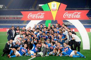 """¡Napoli campeón de Copa! David Ospina y """"Chucky"""" Lozano ganan su primer título en Italia"""