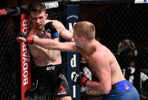 ¡Arriesgó su vida! Max Rohskopf, peleador del UFC, pidió a su entrenador que parara la pelea y éste se rehusó