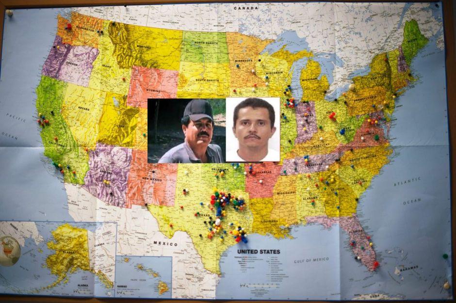 CJNG y Cártel de Sinaloa escondían dinero en guaridas de Los Ángeles y DEA los encontró
