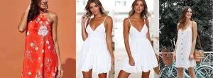 6 diseños de mini vestidos ideales para los días de calor
